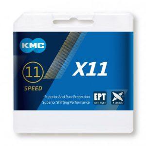 Cadena KMC X11 EPT plata