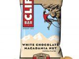 Barritas clif chocolate blanco nueces macadamia