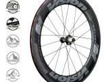 Juego ruedas VISION Metron 81 SL cubierta