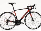 Bicicleta LOOK 785 Huez negro-rojo ultegra R8000 aksium 2018