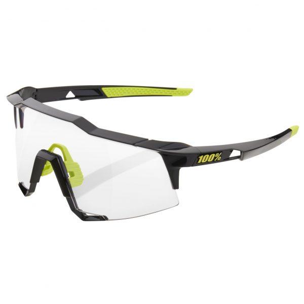 Gafas 100% Speedcraft negro gloss fotocromáticas