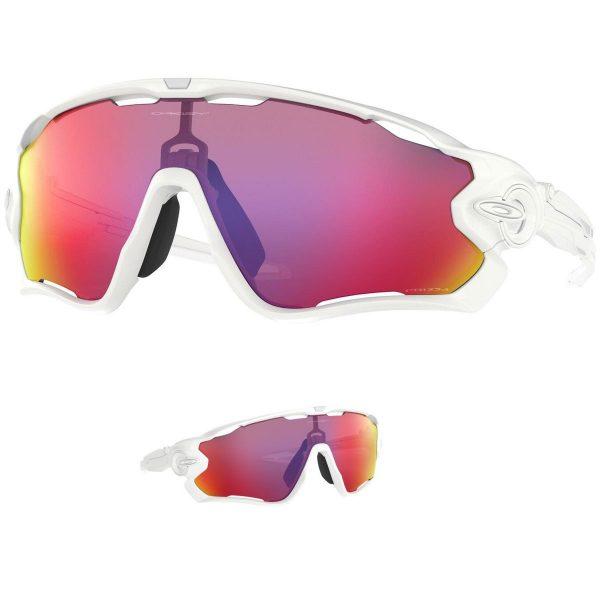 Gafas Oakley Jawbreaker blancas OO9290-5531 Prizm.