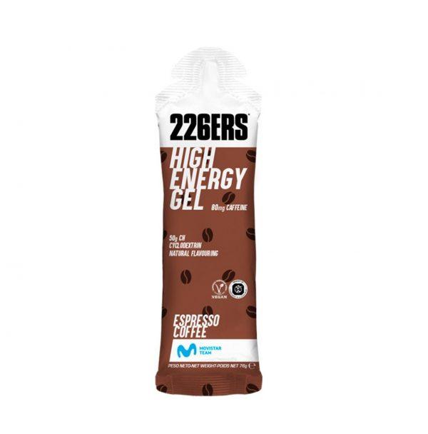 Gel 226ERS HIGH ENERGY GEL CAFEINA sabor café
